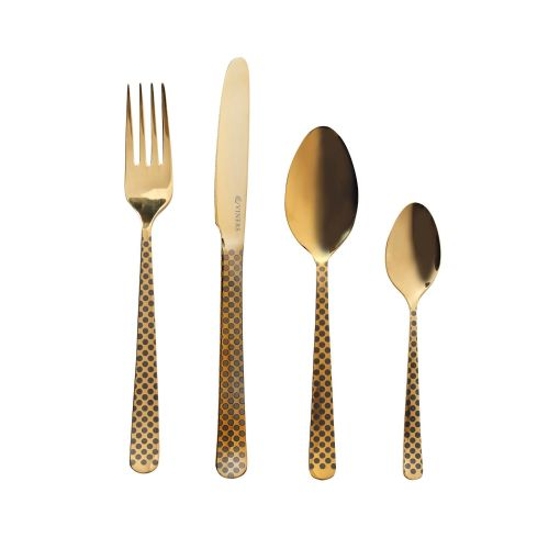 Eminence Gold Cutlery  16 Piece GiftBox